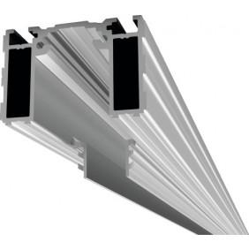 Rail pour porte coulissante bois - invisible -Proslide ARGENTA
