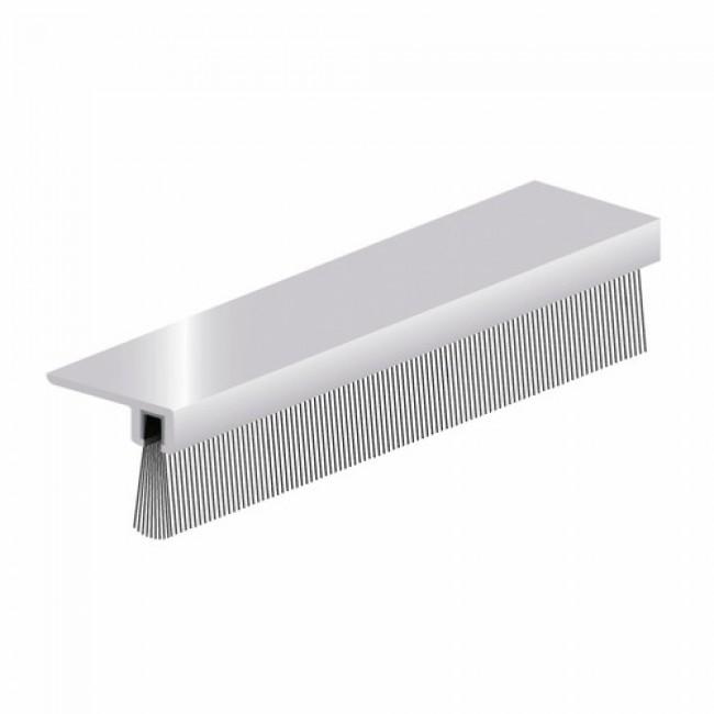 Plinthe à brosse à 90° - pose en applique - IBS-B ELLEN