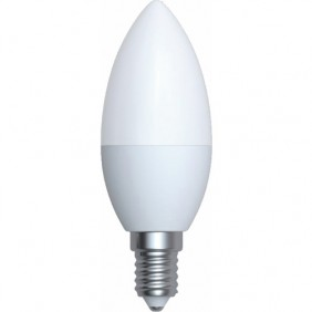 Lampe LED - forme flamme - culot E14 - 6 watts - 4000 k - Classic KODAK LED LIGHTING
