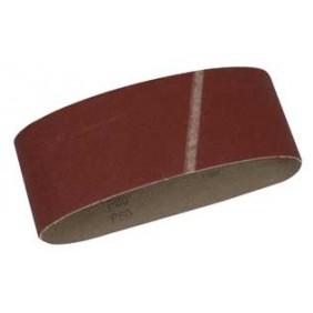 Lot bandes abrasives pour combiné ponceuse PON250 LEMAN