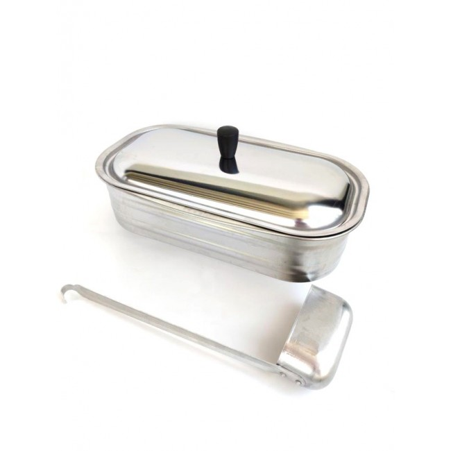 Kit bassin inox 4,5 - pour cuisinière à bois LA NORDICA EXTRAFLAME
