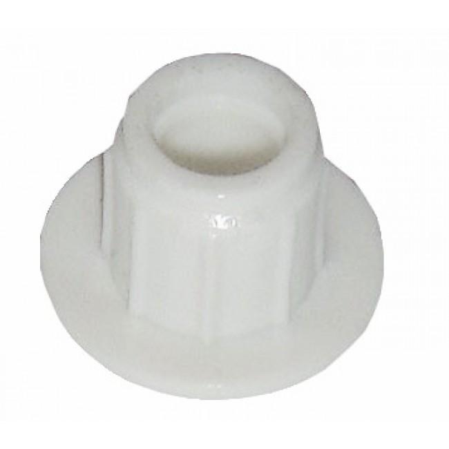 Bouchon plastique pour paumelle menuiserie bois MONIN