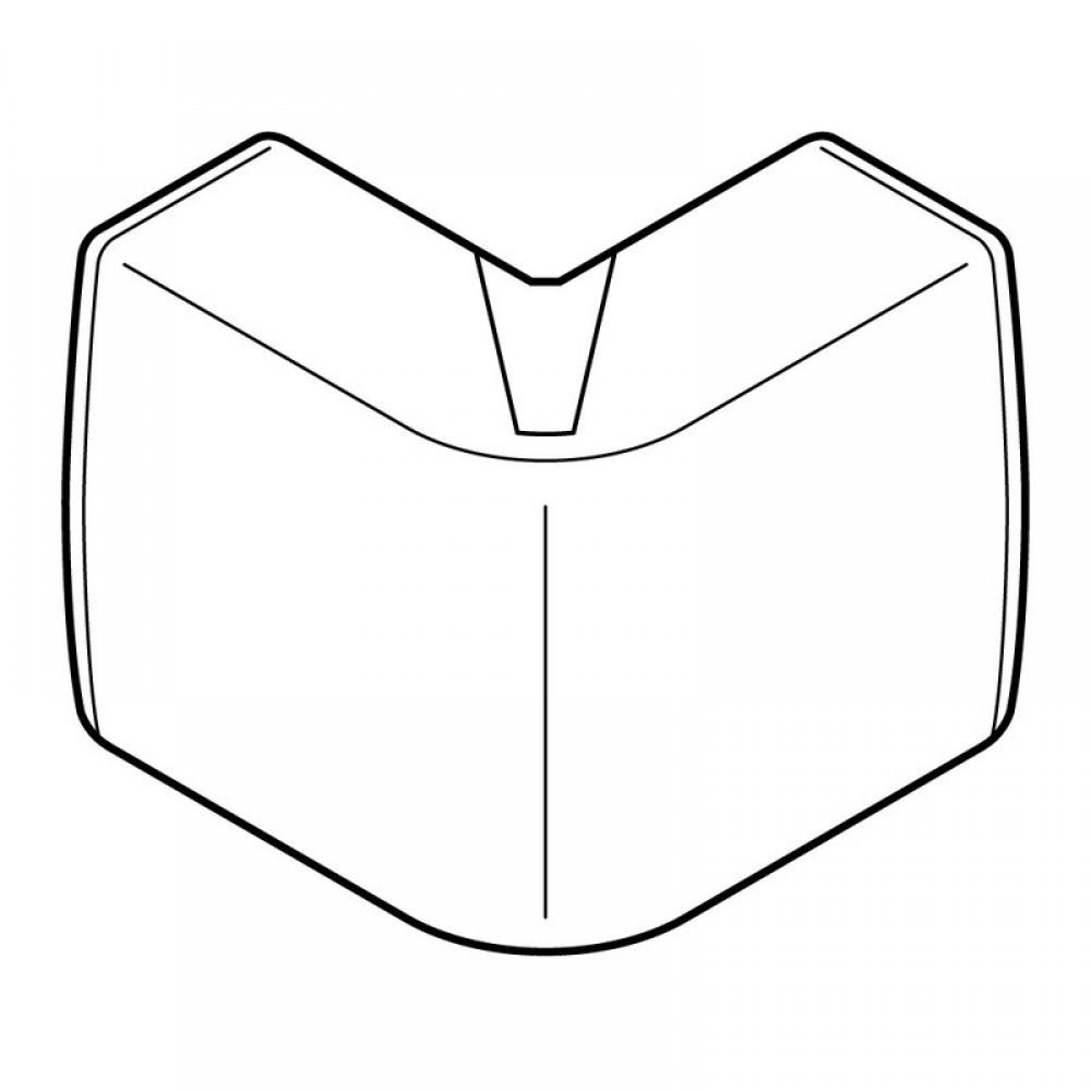 Angle variable ext rieur blanc pour moulure lectrique - Goulotte electrique pour exterieur ...