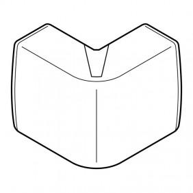Angle variable extérieur blanc pour moulure électrique Kéva PLANET WATTOHM
