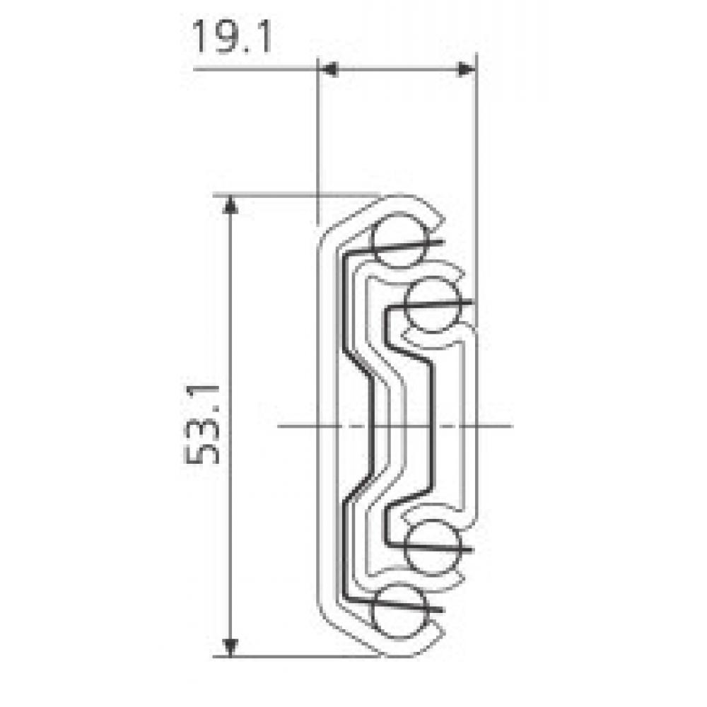 Vollauszüge de tiroir rail télescopique rails 650 mm capacité de charge 35//45 kg extrait