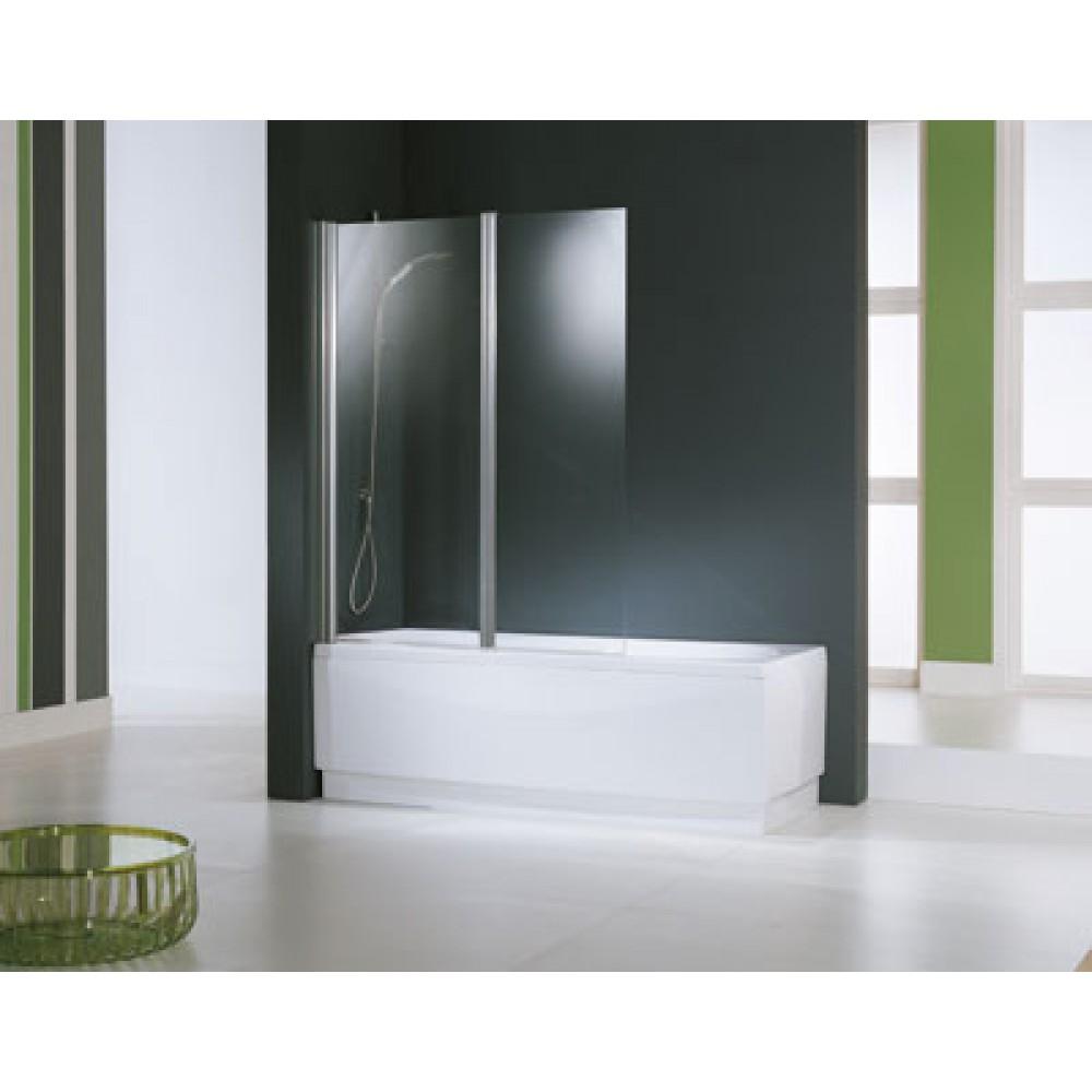 ecran de baignoire aurora 2v 2 panneaux pivotants r versible novellini bricozor. Black Bedroom Furniture Sets. Home Design Ideas