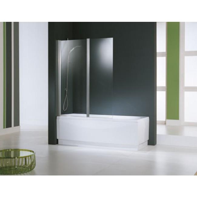 ecran de baignoire aurora 2v 2 panneaux pivotants. Black Bedroom Furniture Sets. Home Design Ideas