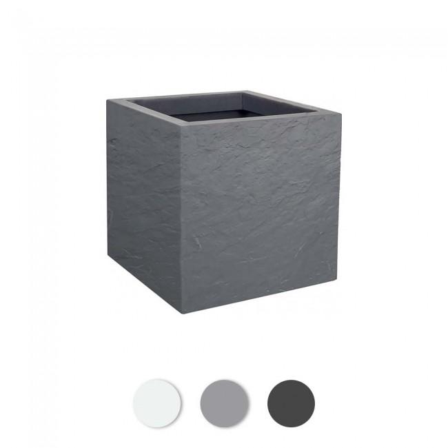 Pot carré Volcania'Up - 21 litres EDA PLASTIQUES