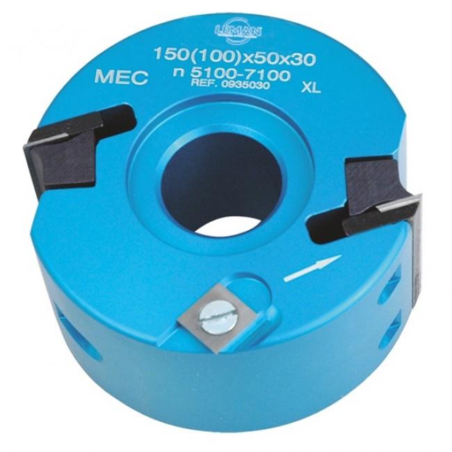 Porte outils à profiler et à feuillure - Hauteur 50 mm - diamètre 100 LEMAN