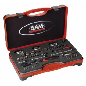 Coffret 52 outils - radio et standard - 75 RS1Z SAM OUTILLAGE