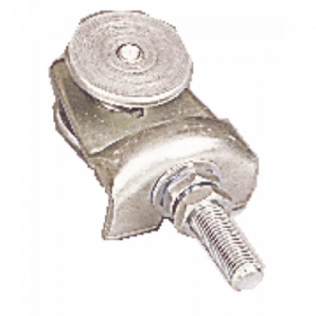 Roulette à boulon simple pour porte coulissante - charge 80 kg ROB