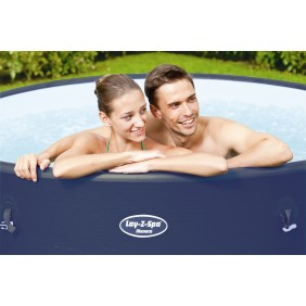 Spa gonflable rond 6/8 places - Lay-Z-Spa - Monaco + accessoires BESTWAY