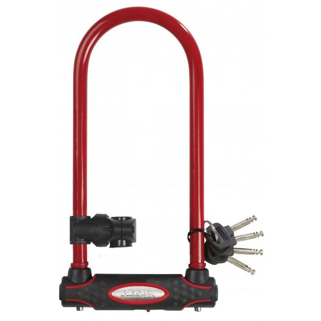 Antivol U certifié - acier cémenté - largeur 11cm - hauteur 28cm MASTER LOCK