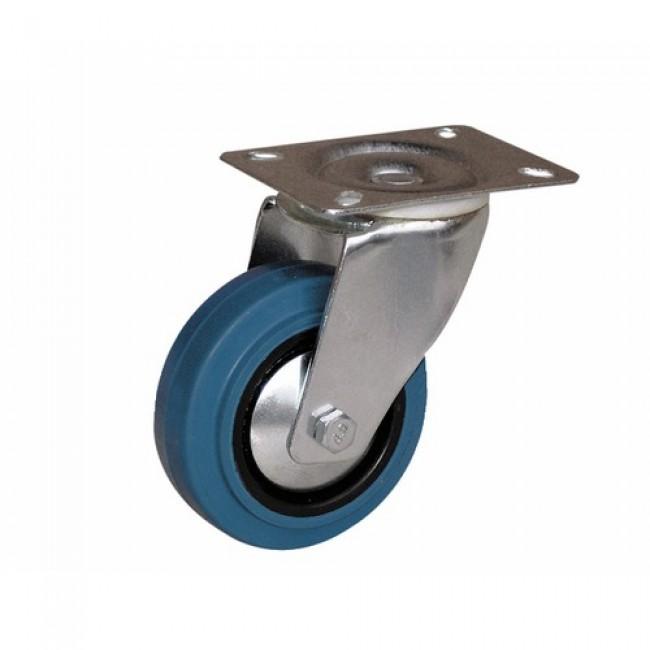 Roulette pivotante - sur platine - pour charges moyennes - Port Roll GUITEL