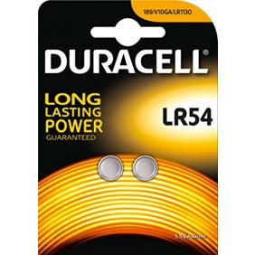 Piles alcalines 1,5V - LR54 DURACELL