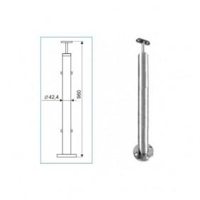 Poteau de balustrade - inox 316 - pour garde-corps à câble - Easy Kit IGS