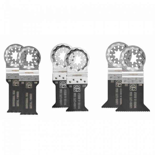 Set 6 lames best of E-cut multimaster FEIN