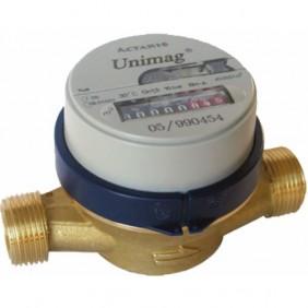 Compteur eau divisionnaire cadran sec - M20xM27 - Eau froide ITRON