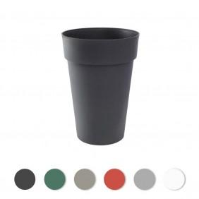 Pot haut rond 46cm -  67 litres - Toscane 13630 EDA PLASTIQUES