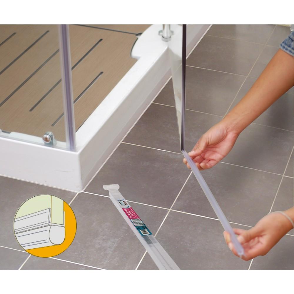 joint tubulaire bas pour porte de douche longueur 1 m geb bricozor. Black Bedroom Furniture Sets. Home Design Ideas