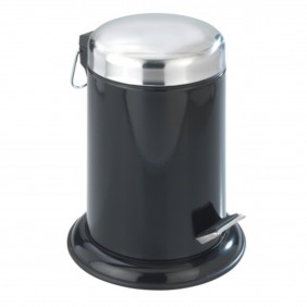 Poubelle à pédale inox pour salle de bain - Retoro - 3 litres WENKO