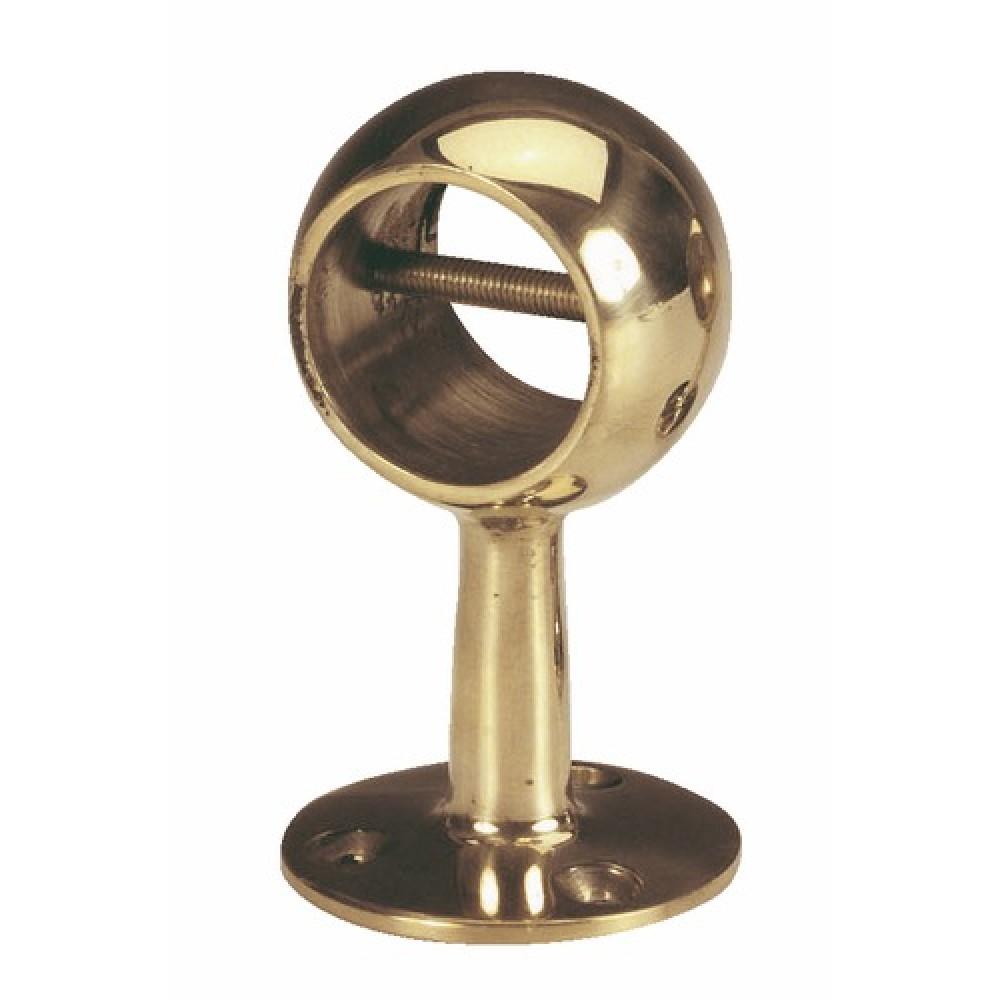 Main Courante Escalier Corde support percé à boule pour main courante en corde bricozor sur bricozor