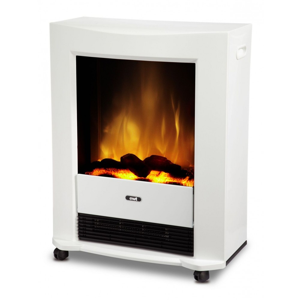 po le lectrique poser 1000w 2000w blanc bartock glen dimplex bricozor. Black Bedroom Furniture Sets. Home Design Ideas