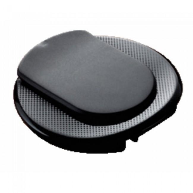 Point de connexion pour bureau : courant + chargeur USB, noir PLANET WATTOHM