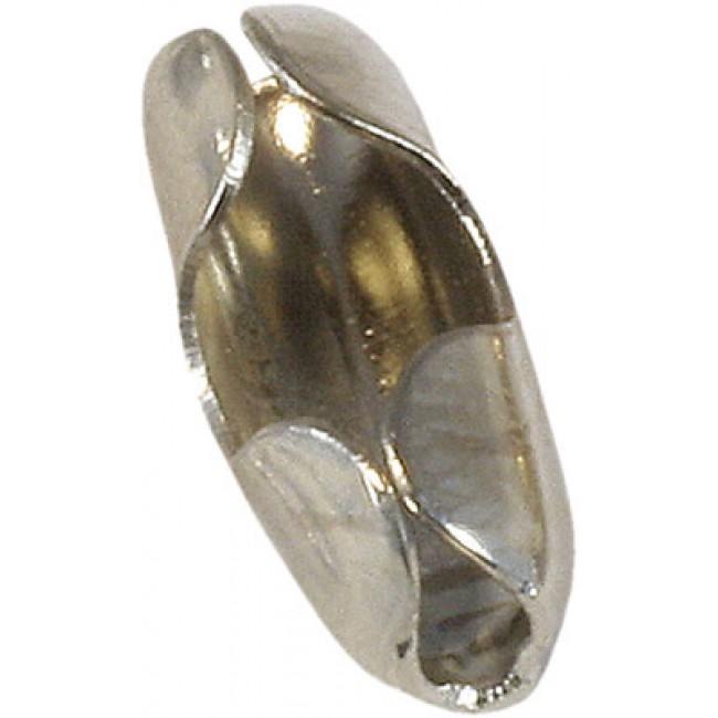 Connecteur chromé pour attache chaînette d'évier BRICOZOR