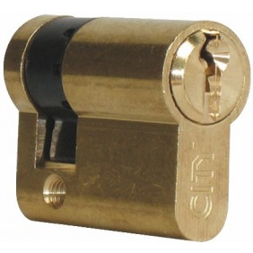 Demi cylindre - 30 x 10 mm - City 5G - sur variure KCF 005502 ISEO