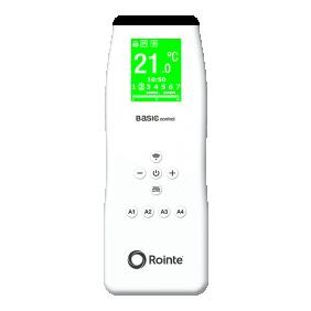 Télécommande par infrarouges - pour produits de la marque Rointe ROINTE