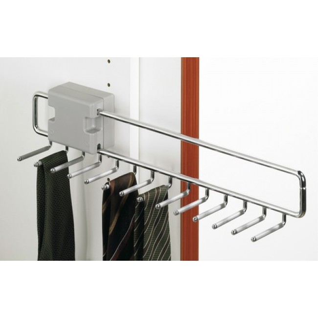 Porte-cravates coulissant-14 supports HETTICH