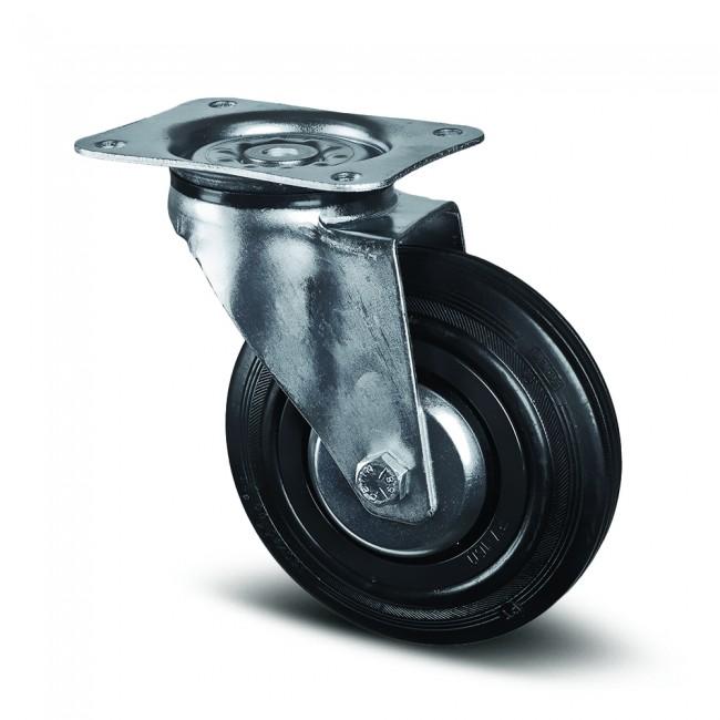 Roulette pivotante - chariot d'atelier et garage - sols béton - Alpha TENTE