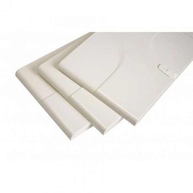 Porte blanche pour tableau Fix-O-Rail 125 AEG