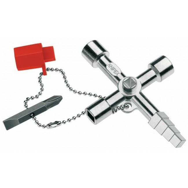 Trousseau de clés maintenance pour chauffage, climatique, sanitaire et bâtiment KNIPEX