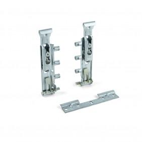 Ferrures de suspension invisibles pour armoire Levelup EMUCA
