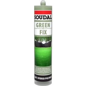 Mastic-colle pour gazon synthétique - polymère - vert - GREEN FIX SOUDAL