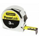 Mètre ruban - blocage et retour automatique - Powerlock STANLEY