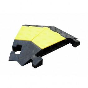 Angle de passe-câble multi-câbles 46 mm VISO