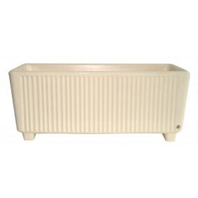 Bac rectangulaire avec réserve d'eau beige - 114 litres - Sequoia 13755 EDA PLASTIQUES