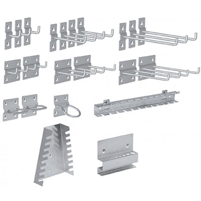 Set crochet pour Meuble d'atelier modulaire - 22 pièces KRAFTWERK