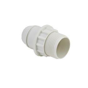 Douille à vis E14 - avec bague - chemise 1/2 filetée DEBFLEX