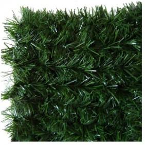 Haie végétale artificielle - 140 brins - vert thuyas – LUX-2R JET7GARDEN