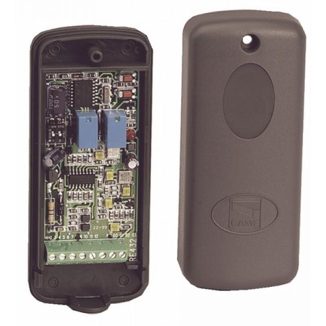 Récepteur radio - bicanal - pour armoire de commande CAME