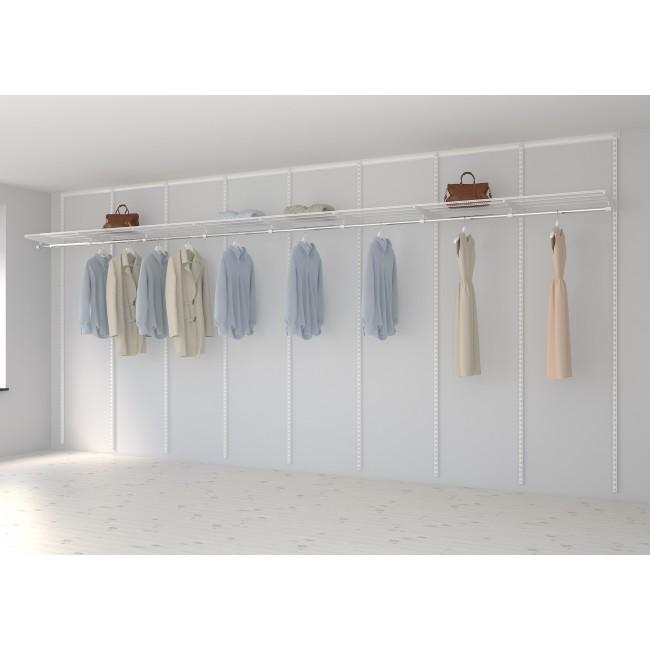 Kit dressing Basique - L480xP40 cm - blanc ELFA