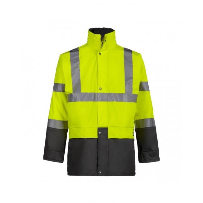 Veste de pluie haute visibilité - Jaune fluo - Bandit NORTH WAYS