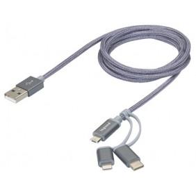Cordon avec connecteur Type A vers triple connecteur LEGRAND
