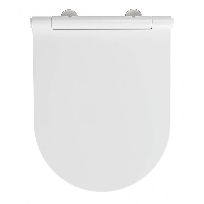 Abattant WC - Nuoro - Easy Close et Fix Clip WENKO