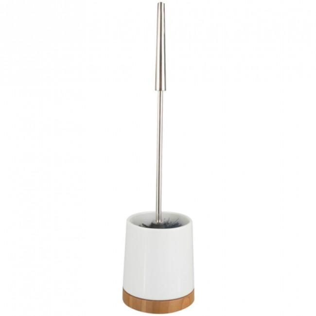 Brosse WC à poser - Bambou et céramique WENKO