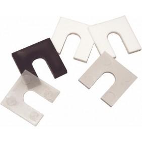 Cales fourchettes en plastique pour pose de menuiseries GOETTGENS SA
